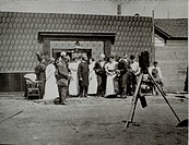 Movie Set, Selig Studio, First Movie Studio in California, 1908