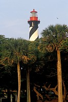 Historic St. Augustine Lighthouse in St. Augustine, FL