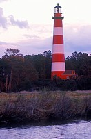 Assateague Lighthouse at Assateague Wildlife National Seashore, VA