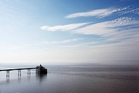 A view toward Clevedon pier