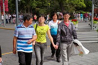 China, Shanghai, Huangpu District, The Bund, Zhongshan Road, Asian, man, woman, couple,