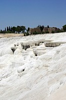 Pamukkale. Nature phenomenon. Turkey