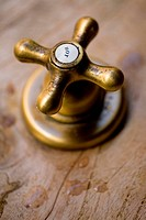 Vintage style hot tap in SPA