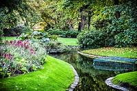 Botanical Garden Jardin des Plantes in Nantes, Pays de la Loire, France, Europe
