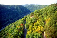 New River Gorge, Worlds Largest Arched Bridge National River, WV