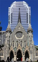 Canada, Quebec, Montreal, Christ Church, Anglican Cathedral,