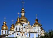 Ukraine, Kiev, Kyiv, St Michael´s Cathedral,