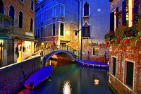 italy, venice: san marco by night