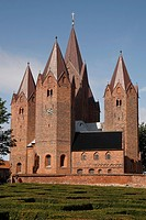 Church of Our Lady, Kalundborg, Sjaelland, Denmark, Scandinavia, Europe