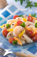 Carpaccio of Scallop