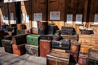 Luggage and trunks aboard the ss great britain, bristol avon england