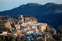 Medieval village of Chateaudouble, Var, 83, Provence, PACA, France-