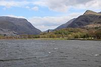 Llyn Padarn, Padarn Lake, Llanberis, Gwynedd, Snowdonia, North Wales, Wales, United Kingdom, Europe