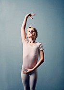 Portrait of a Young Ballet Dancer