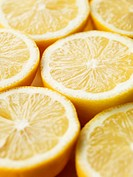 lemons Cut in Half