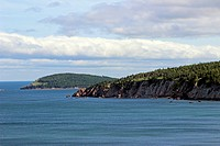 Limbo Cove, Atlantic Coast, Cabot Trail, Cape Breton, Nova Scotia, Canada