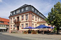 City hall, Heiligenstadt, Eichsfeld, Thuringia, Germany, Europe