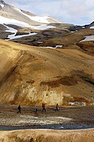 Kerlingarfjoll mountains, Kjolur Highlands, Iceland, Europe