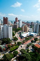 Panoramic of the City of Barranquilla, Atlantic, Colombia