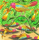 Poisoned Birds, Poisonous Plant, Poisonous Garden