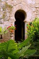 Arab baths in Majorca old city of Barrio Calatrava Los Patios
