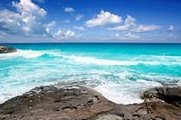 escalo es calo Formentera north rocky coast aqua