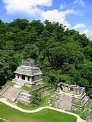 Palenque mayan ruins maya Chiapas Mexico