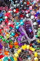 jewellery mixed colorful many jewels plastic jewelry