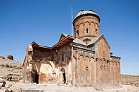 st gregory church or tigran honentz, ani ruins, kars area, north-eastern anatolia, turkey, asia