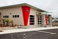 i-Site Information Office, Opotiki, north island, New Zealand