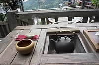 Teahouse at Jiufen, Taiwan