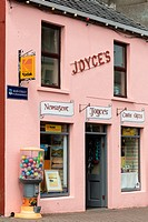 A newsagents in Clifden, Connemara, Co  Galway, Ireland