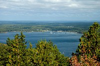 Somes Sound from Acadia Mtn, Acadia NP, ME