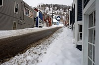Winter Scenes, Park City, Utah