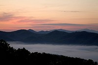 Foothills Parkway, Sunrise, East Tennessee