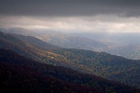 Autumn, Mountains, Cherohala Skyway