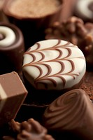 Detail of chocolates