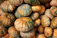 Pumkins at local market, asia