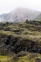 Volcanic landscape, Landmannalaugar, Iceland, Europe