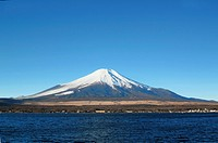 Mt.fuji and blue sky