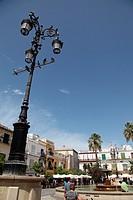 Plaza del Cabildo, Sanlucar de Barrameda, Cadiz, Andalucia, Spain