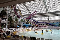 World Waterpark, West Edmonton Mall, Edmonton, Alberta, Canada.
