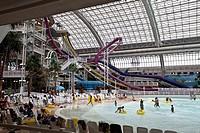 World Waterpark, West Edmonton Mall, Edmonton, Alberta, Canada.