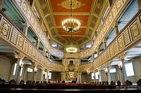 Interior of church, Bad Lauterberg, Harz, Lower Saxony, Germany
