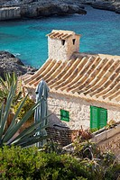 Stone house at Cala S Almunia, Santanyi, Majorca, Spain
