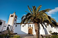 Church Santa Maria, Betancuria, Fuerteventura, Canary Islands, Spain