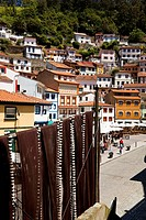 Fishing village of Cudillero in the province of Asturias, Cudillero, Asturias, Spain