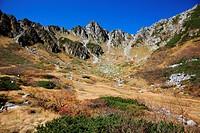 Senjojiki glacial landform, Nagano Prefecture