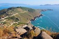 Cabo Home, Ria de Vigo, Cangas, Pontevedra province, Galicia, Spain.