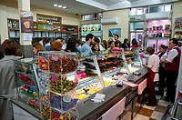 La Mallorquina cake shop, indoor view. Madrid, Spain